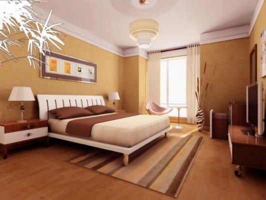 Hướng dẫn phối màu sơn nội thất làm tăng diện tích phòng