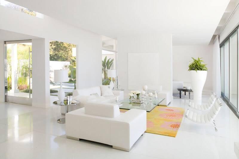 sơn nhà nội thất màu trắng