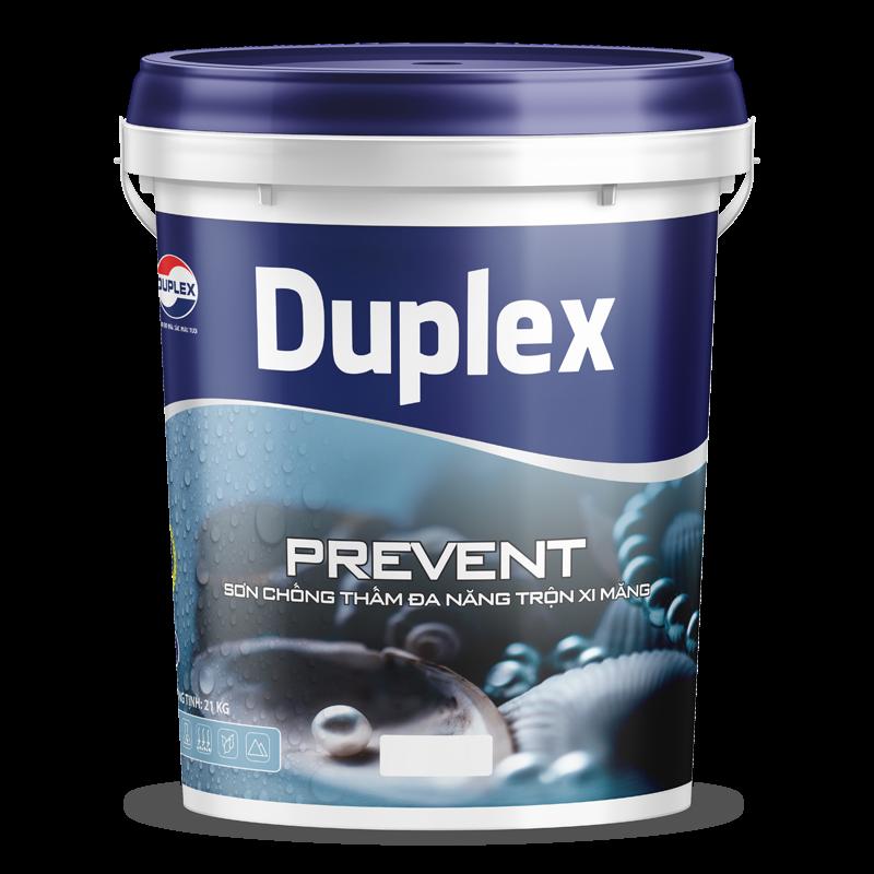 sơn chống thấm đa năng trộn xi măng sơn Duplex