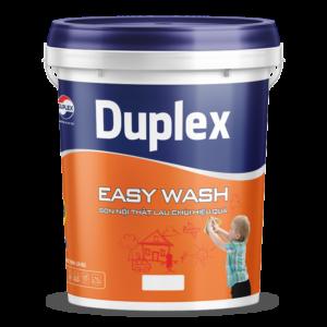 Sơn nội thất lau chùi hiệu quả sơn Duplex