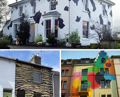ý nghĩa của các màu sơn nhà