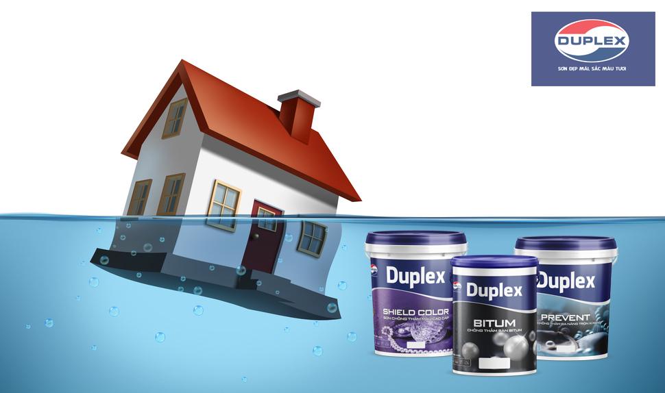 sơn duplex chống thấm
