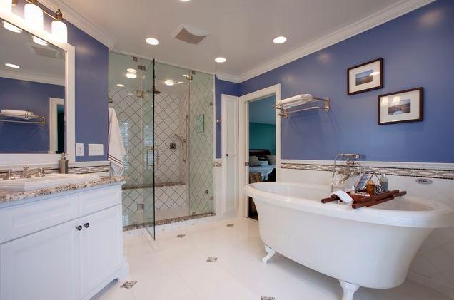 Không gian nhà tắm
